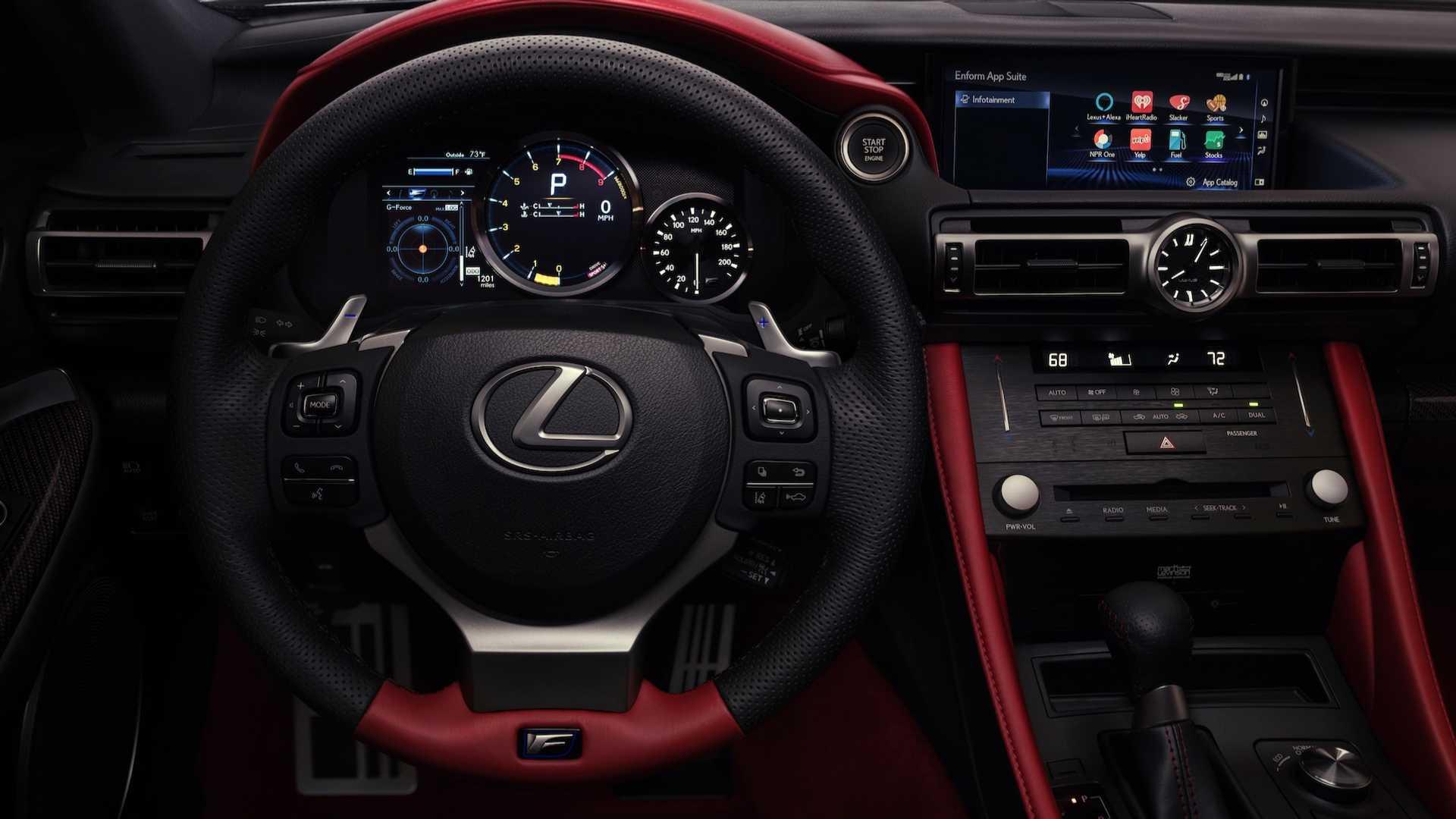 Lexus превратил RC F в трековую версию в исполнении Track Edition 3