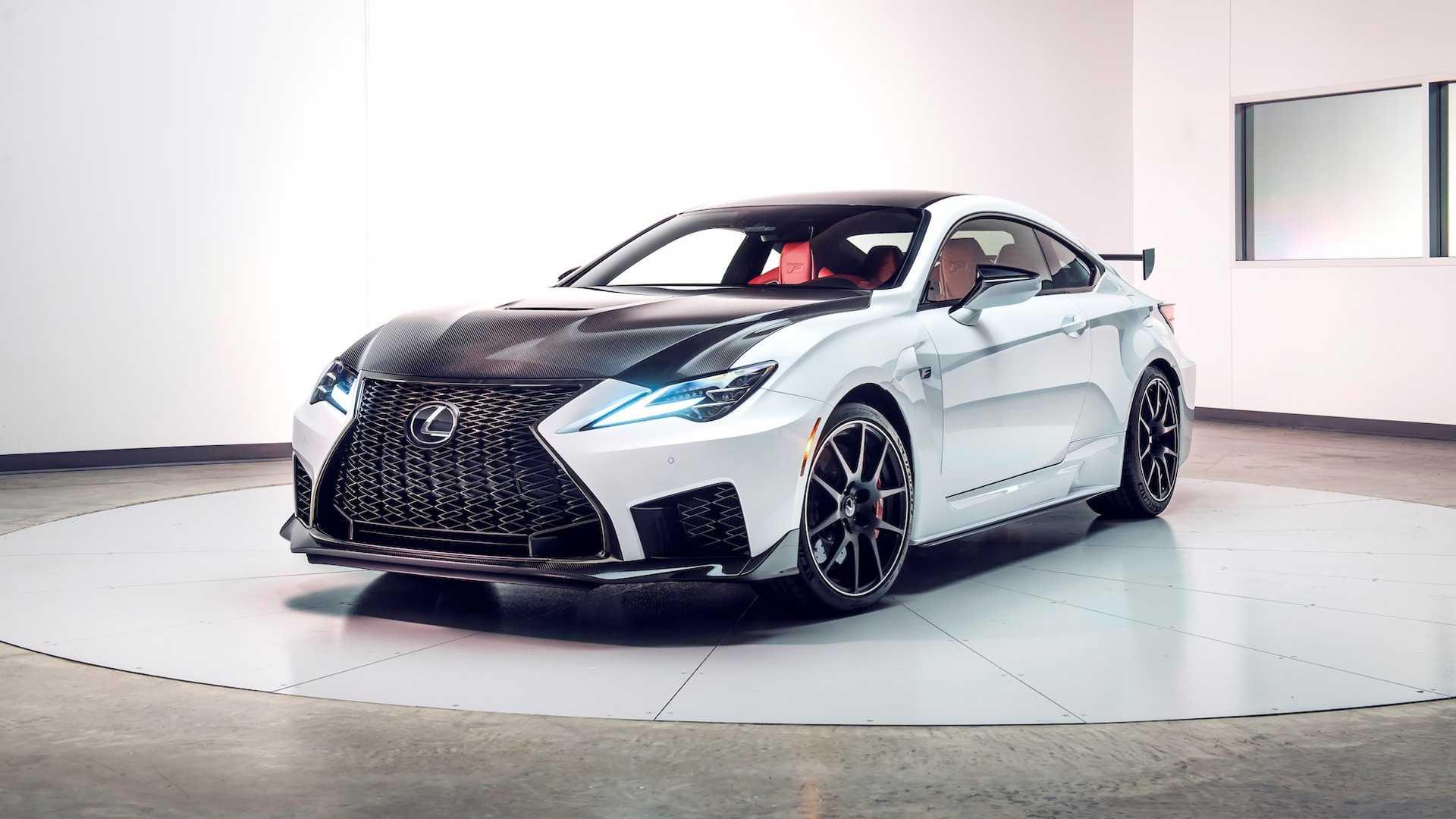 Lexus превратил RC F в трековую версию в исполнении Track Edition 1
