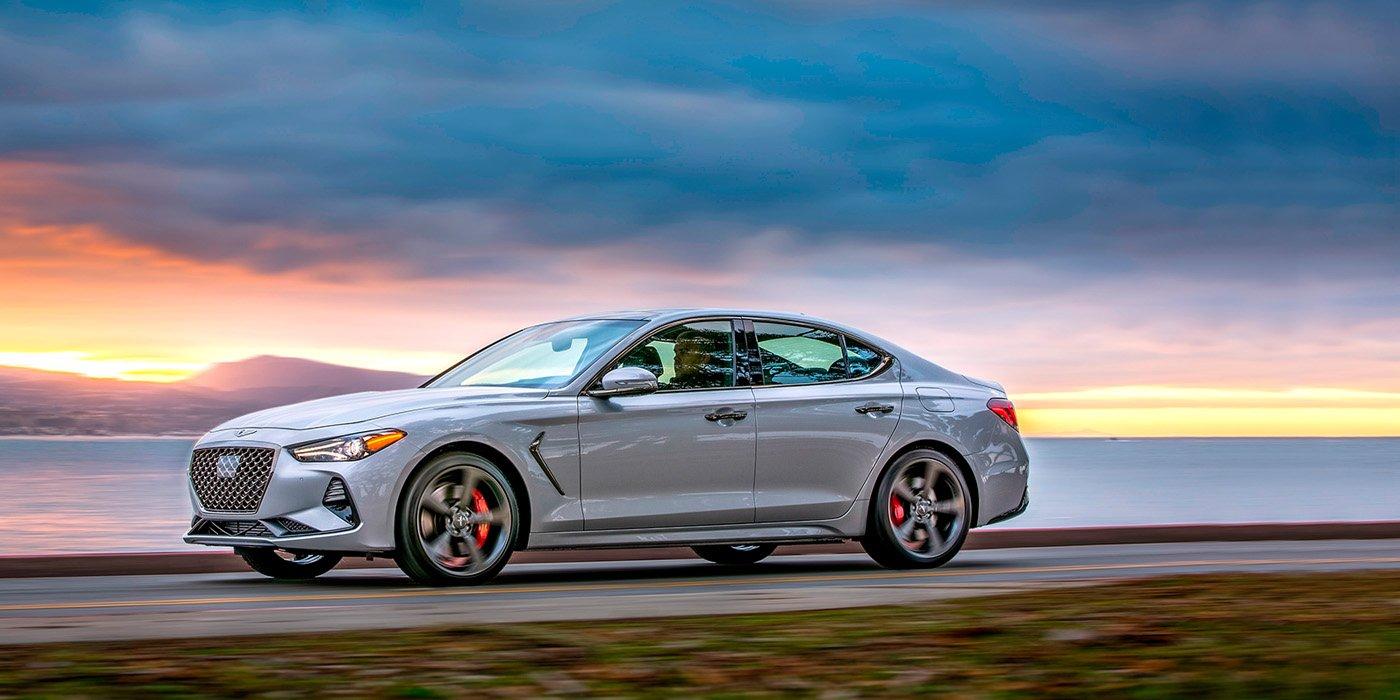 Седан Genesis G70 стал автомобилем года в США 1