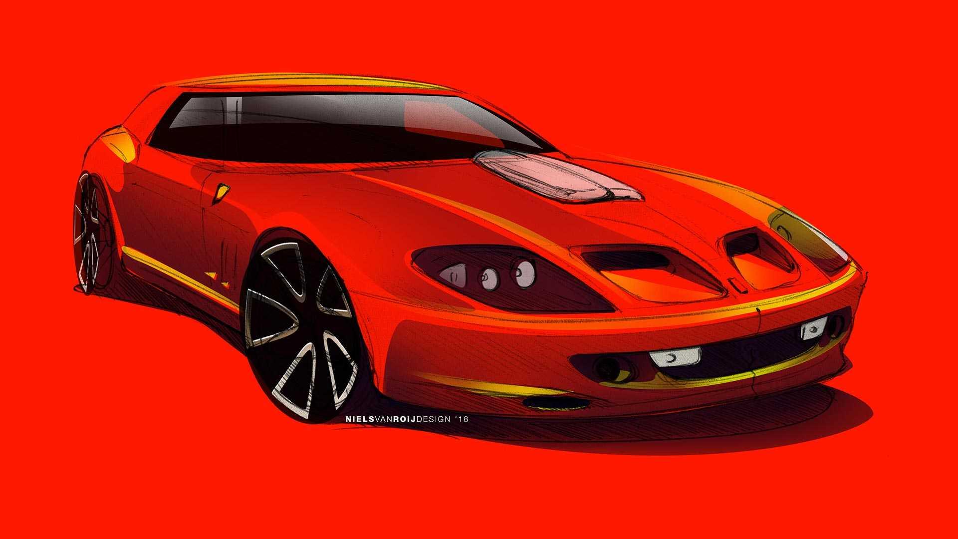 Британцы возродят Ferrari Breadvan на базе 550 Maranello 1