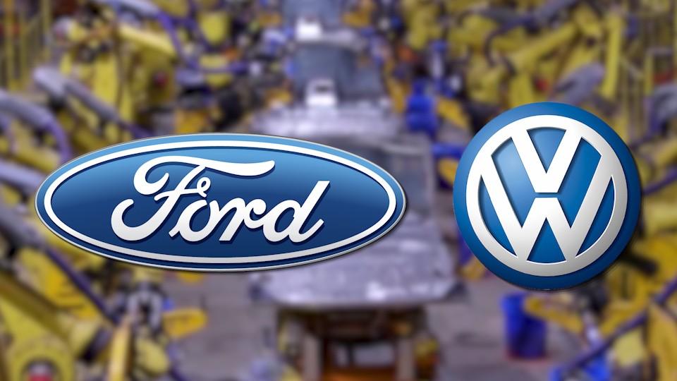 Ford и VW объявят о создании альянса в Детройте во вторник 1