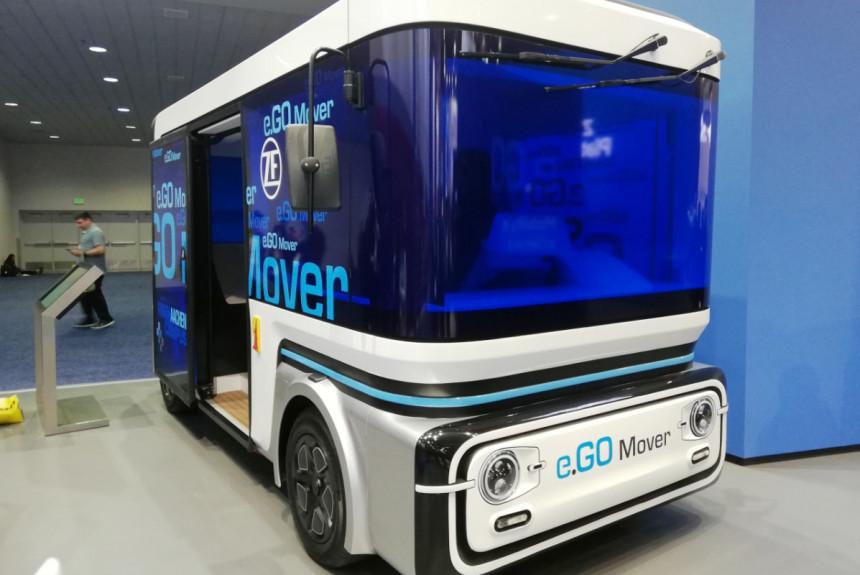 В Европе появятся пассажирские автономные маршрутки 1