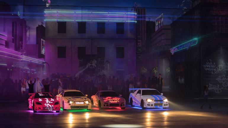 Автомобили из шоу «Fast & Furious Live» продадут на аукционе 1