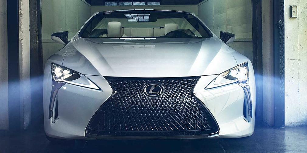 Lexus LC стал кабриолетом 1