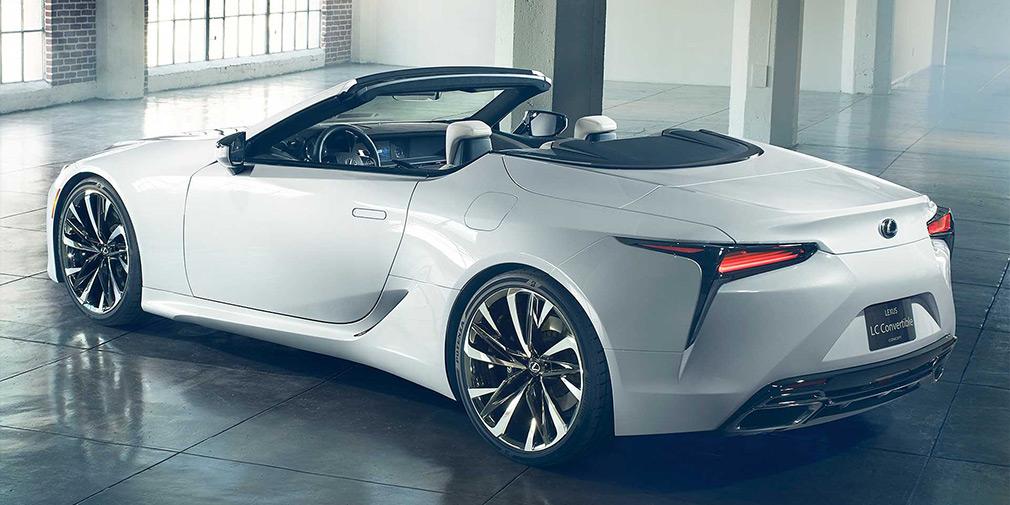 Lexus LC стал кабриолетом 3