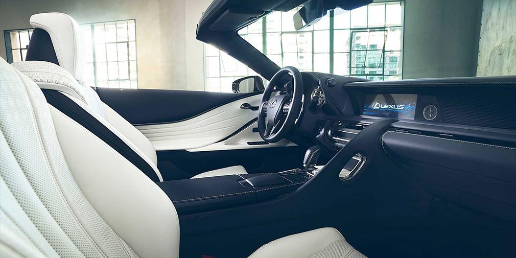 Lexus LC стал кабриолетом 4