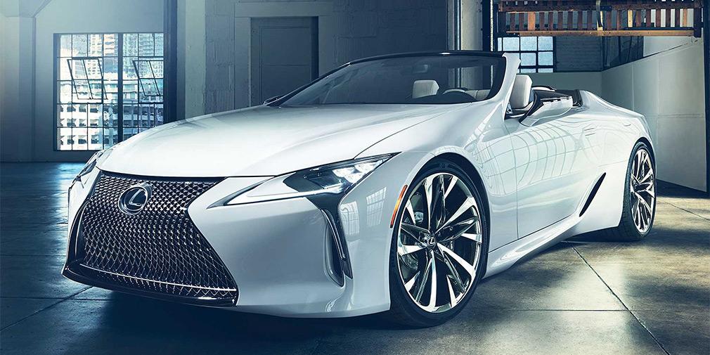 Lexus LC стал кабриолетом 2