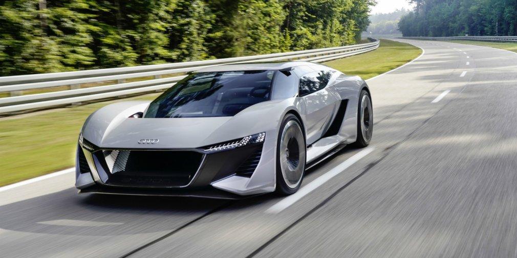 Audi запустит в серию электрический суперкар 1