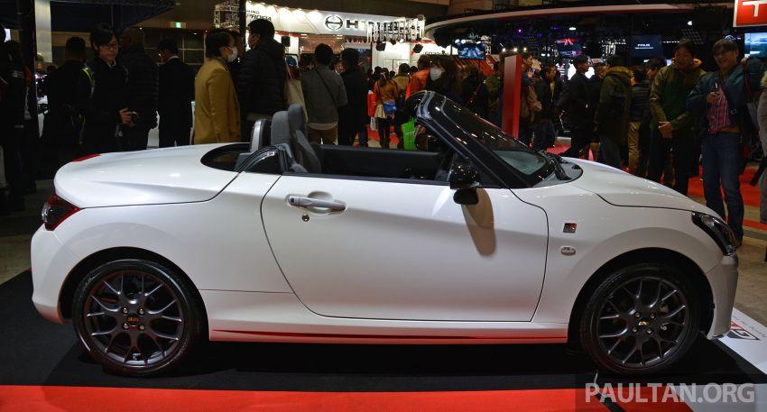Крошечный родстер Daihatsu мимикрирует под «заряженные» Toyota 1