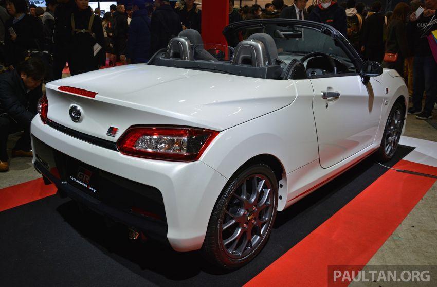 Крошечный родстер Daihatsu мимикрирует под «заряженные» Toyota 2