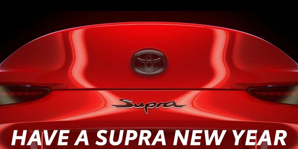Toyota показала последний тизер возрожденной Supra 1