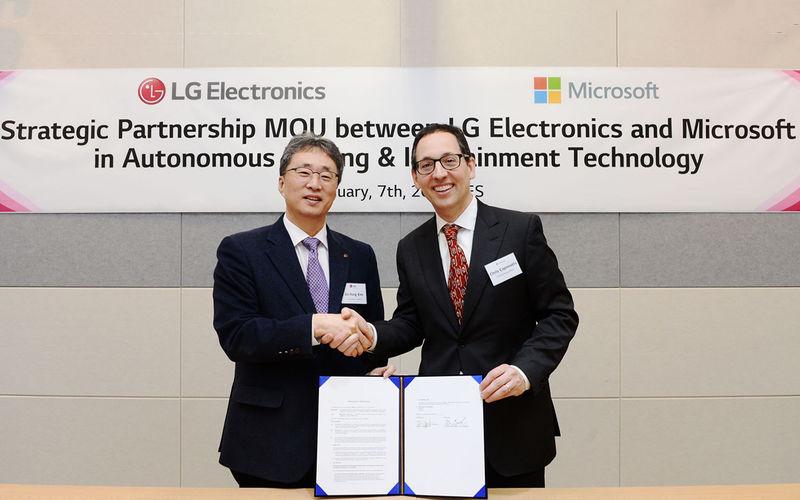 LG и Microsoft готовят автомобильную революцию 1