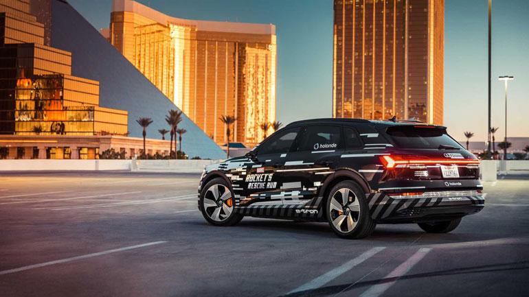 Audi представила технологию Audi Holoride 2