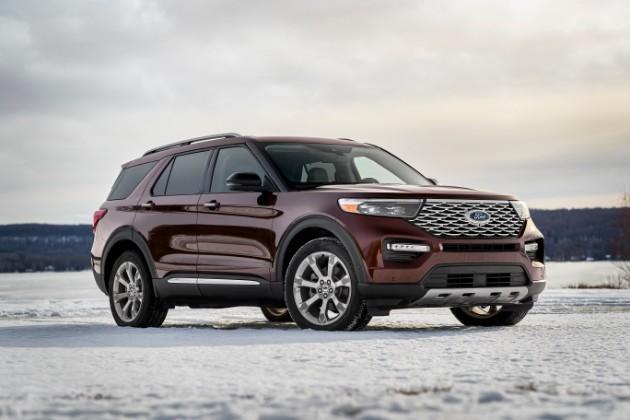 Ford официально презентовал новый Explorer 1
