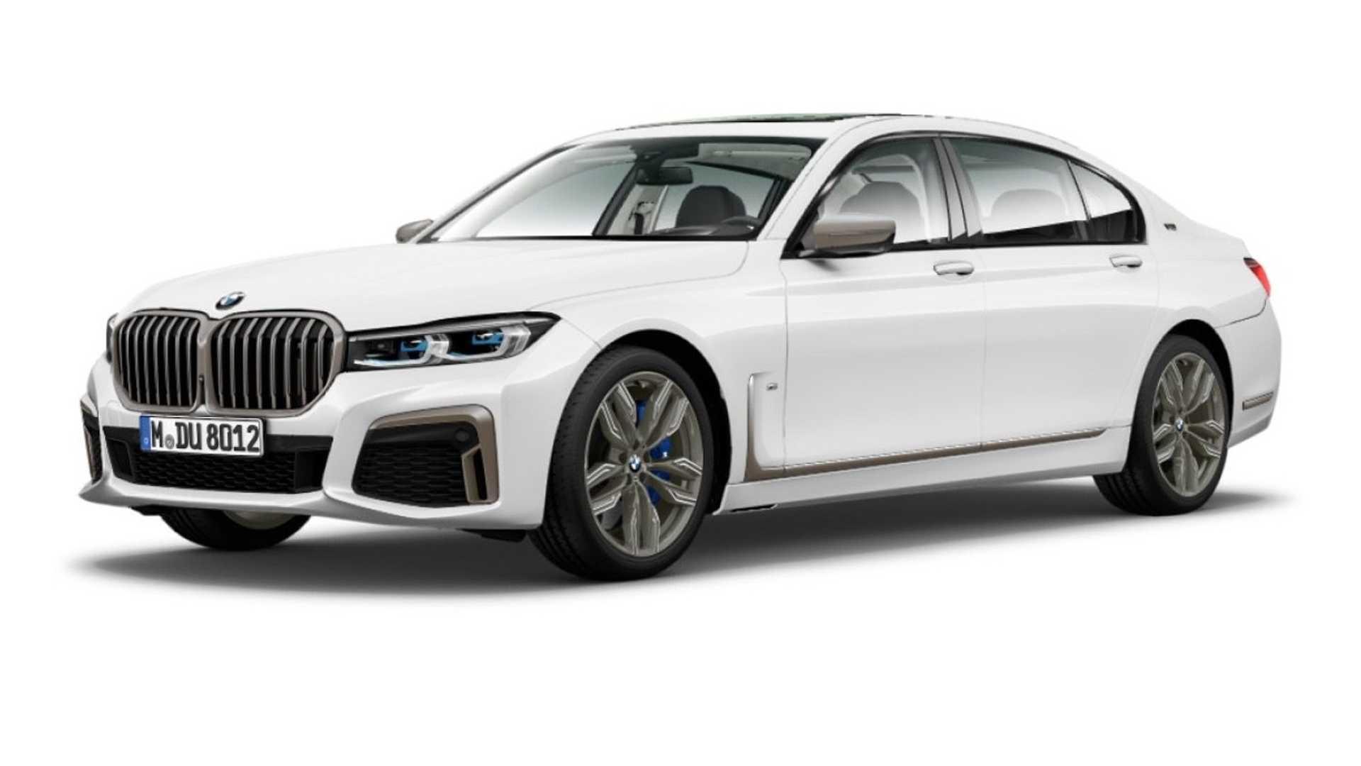 Новая BMW 7 Series получит дизайн в стиле X7 1