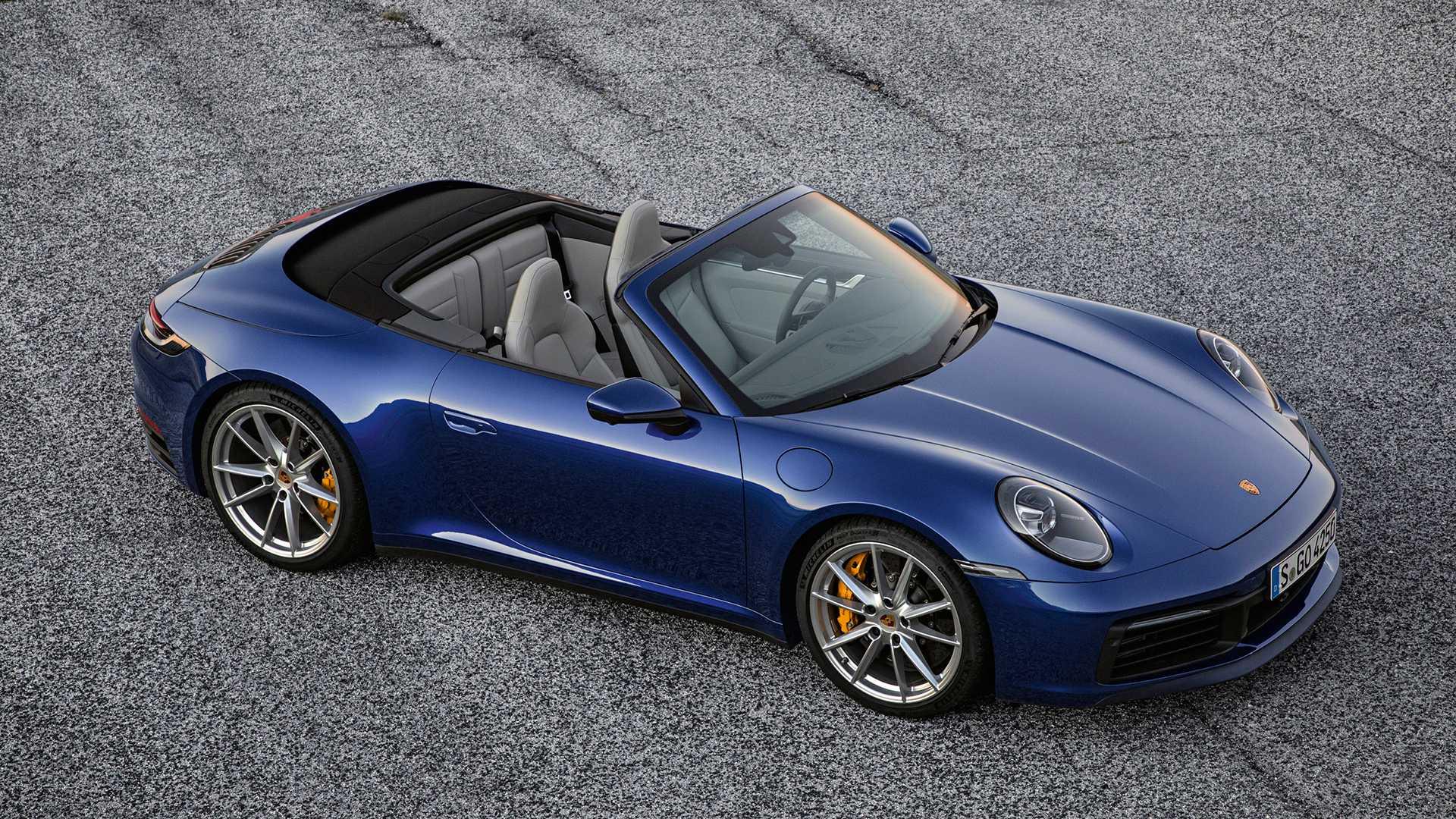 Porsche представил новый 911 Cabriolet 1