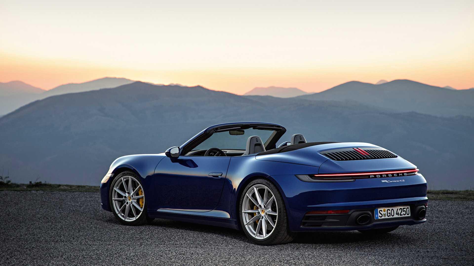 Porsche представил новый 911 Cabriolet 2