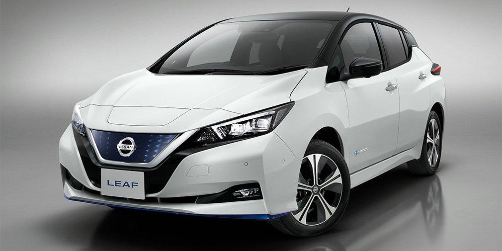Nissan увеличил мощность и запас хода нового Leaf 1