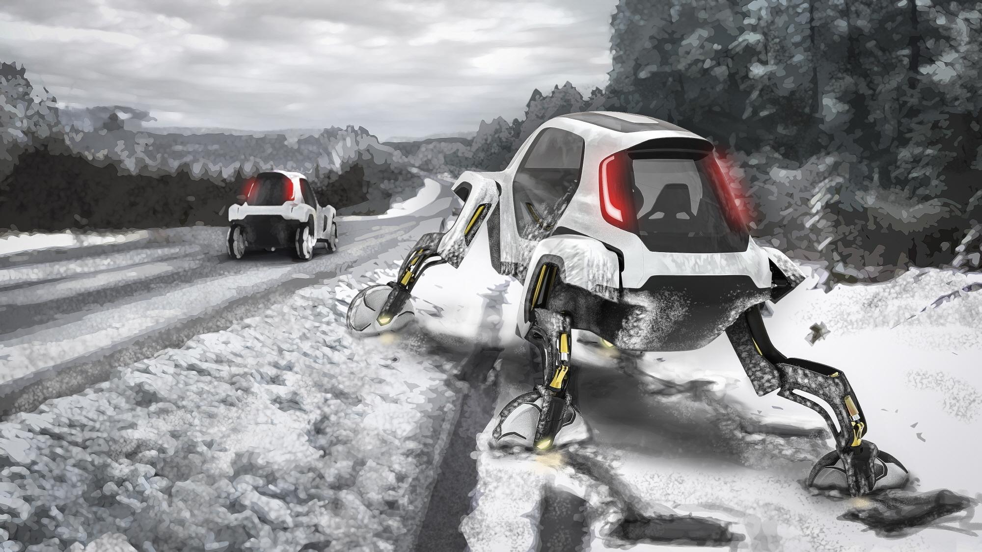Hyundai презентовал «ходячий» автомобиль 1