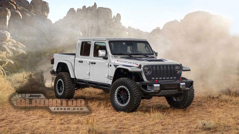 Jeep Gladiator получит «заряженную» версию Hercules Performance 1