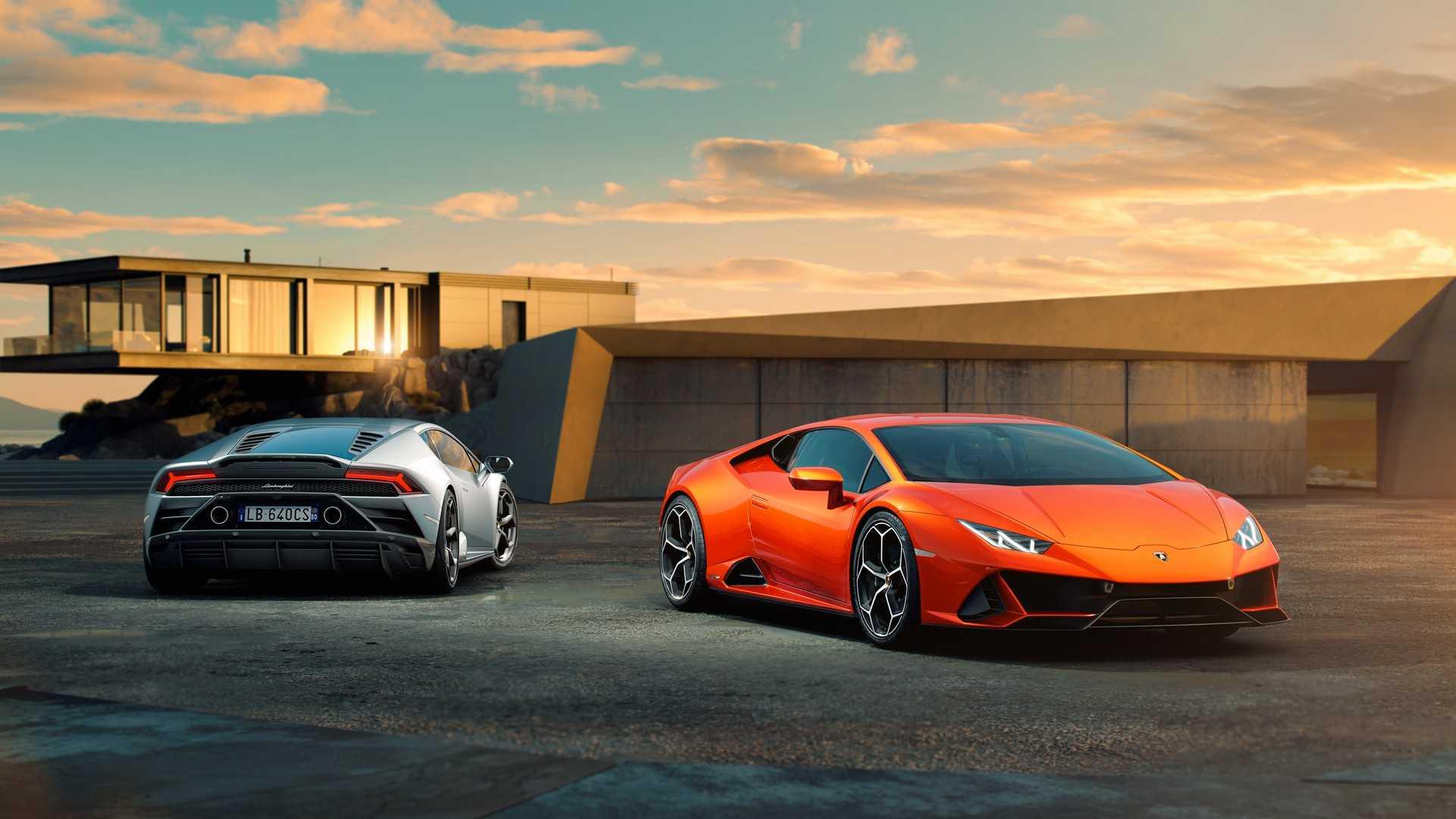 Lamborghini обновила Huracan до версии EVO 2