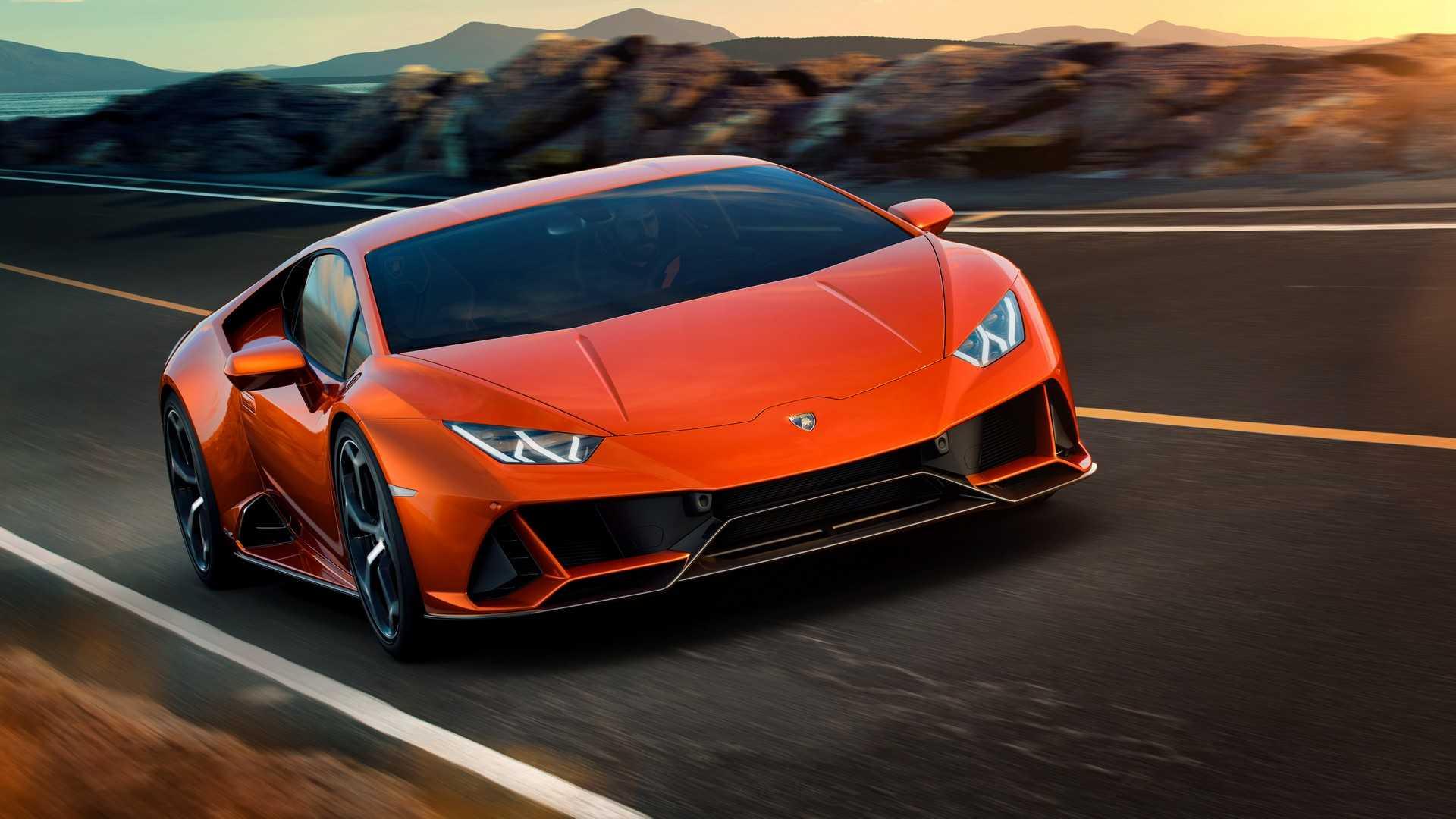 Lamborghini обновила Huracan до версии EVO 1