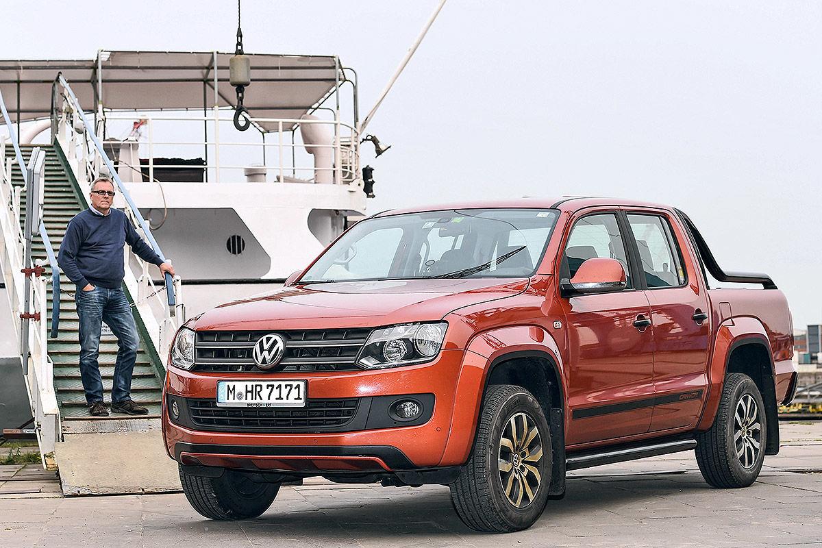 На что способен VW Amarok с большим пробегом 1