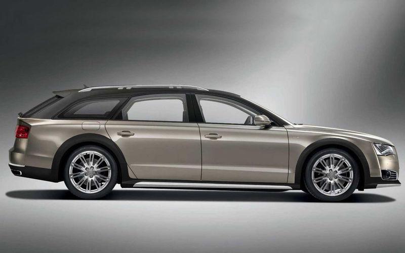 Audi A8 станет универсалом повышенной проходимости 2