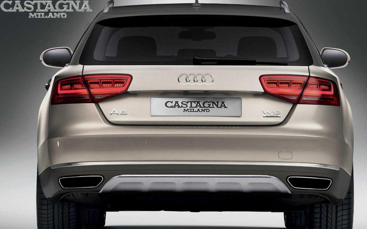 Audi A8 станет универсалом повышенной проходимости 1
