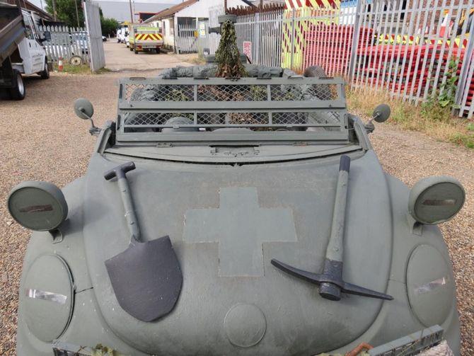 VW Жук с символикой вермахта оценили в 1000 долларов 1