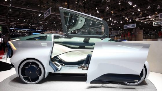 Китайцы презентовали мегароскошный автомобиль 2