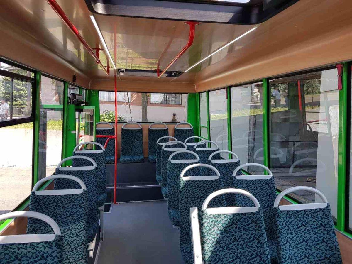 Новейшие маршрутки Рута 25F уже возят пассажиров 2
