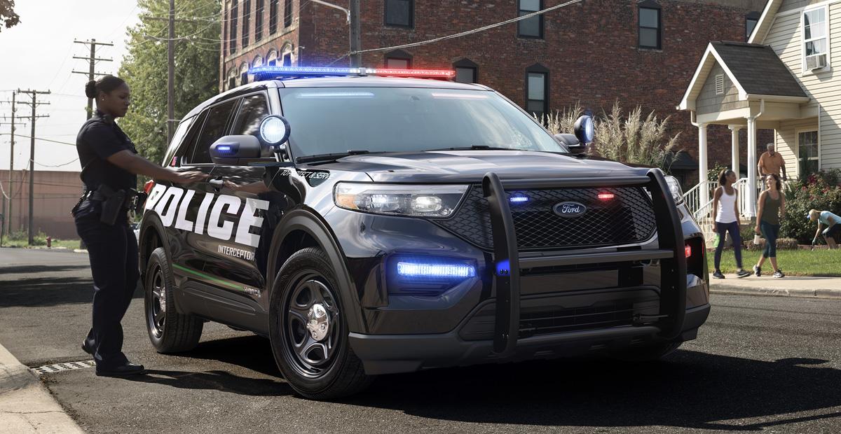 Новый Ford Explorer дебютировал в полицейской форме 1