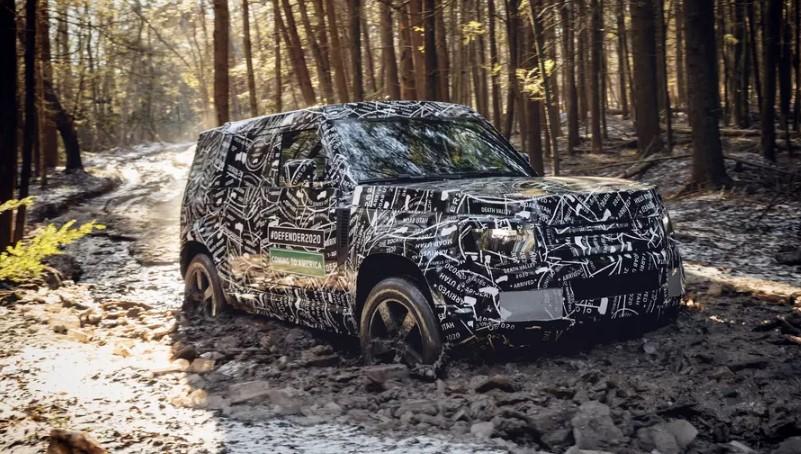 Land Rover рассказал о внедорожных испытаниях нового Defender 1