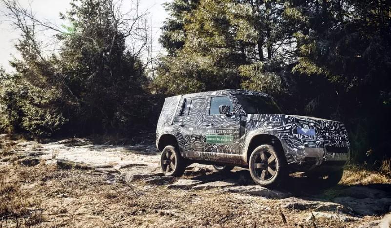 Land Rover рассказал о внедорожных испытаниях нового Defender 2