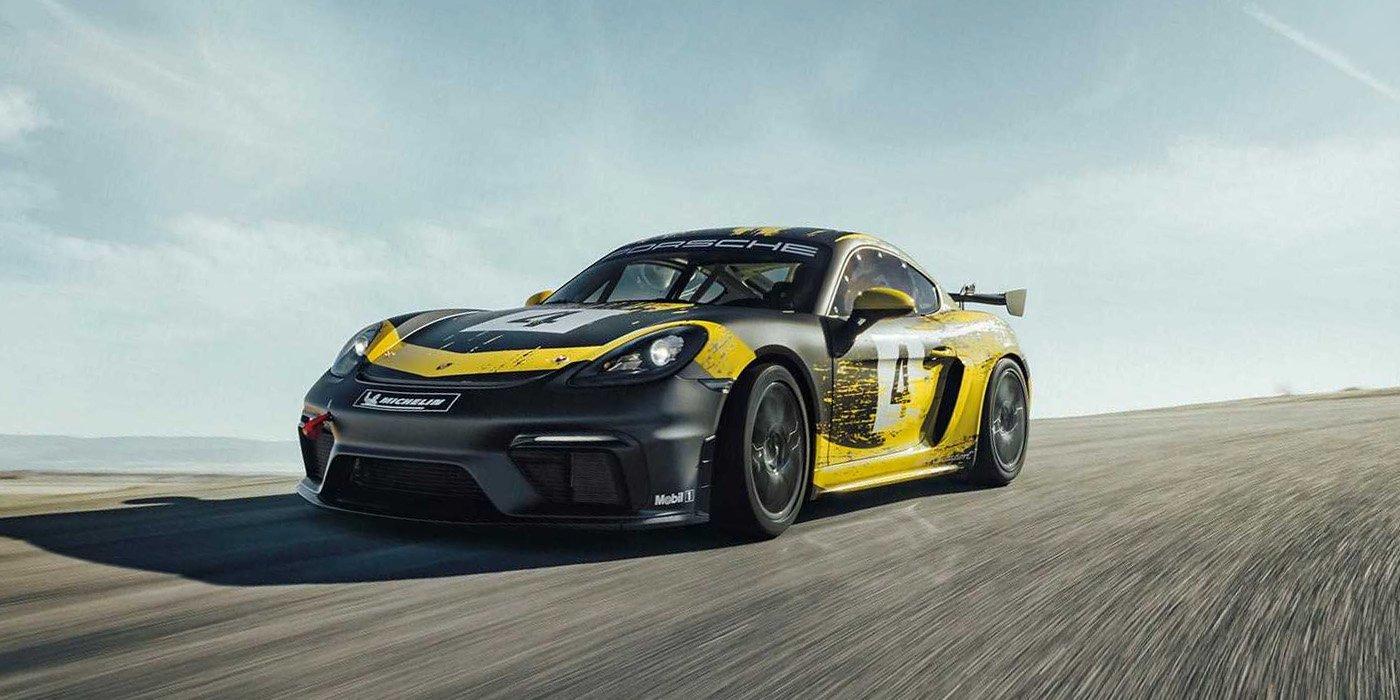 Porsche представил гоночный 718 Cayman 1