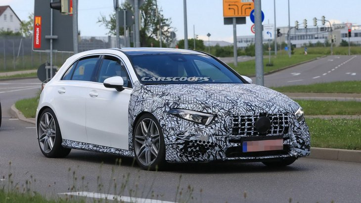 Страховая компания рассекретила мощность флагманского Mercedes-AMG A45 S 1