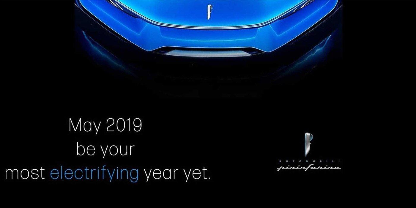Pininfarina опубликовала новое изображение электрического гиперкара 1