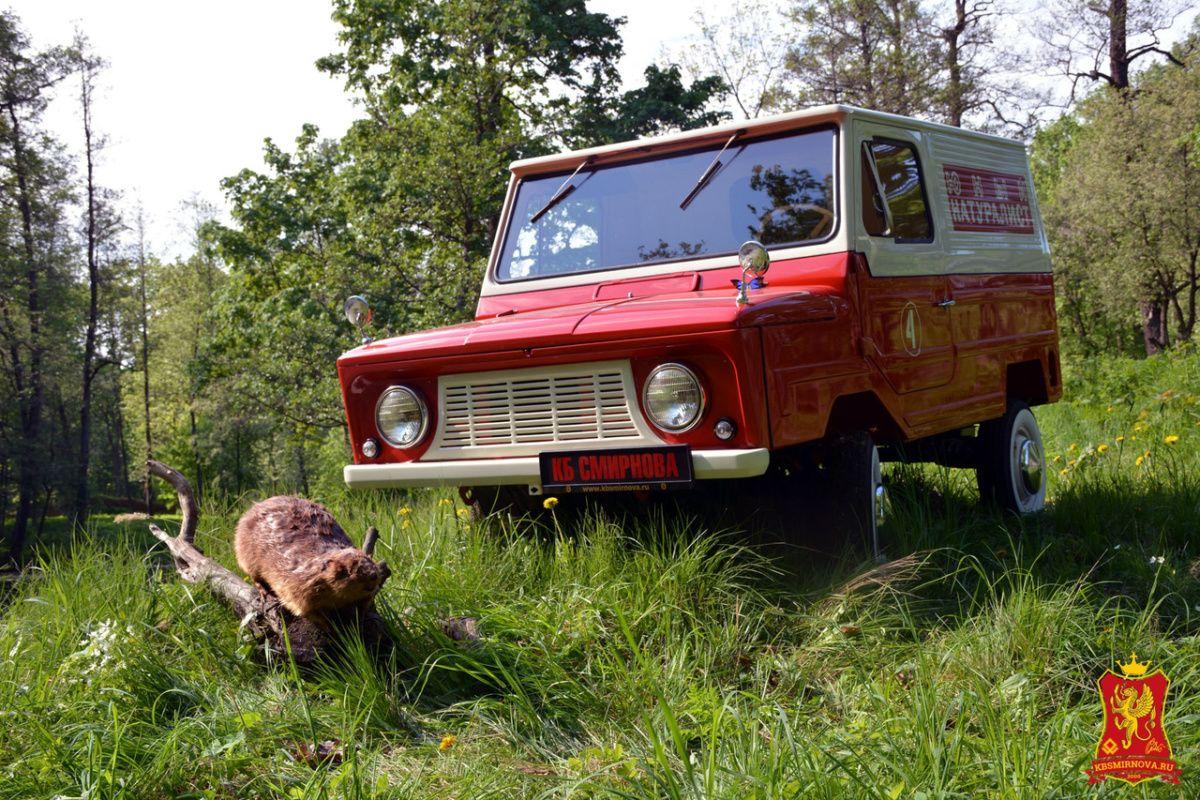 Найден уникальный переднеприводный фургон ЛуАЗ-969Ф 1