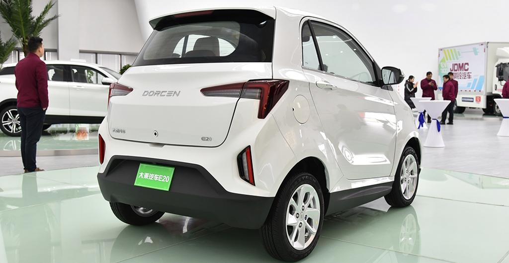 Кроссовер Dorcen G60S и электромобиль E20 стали серийными 6