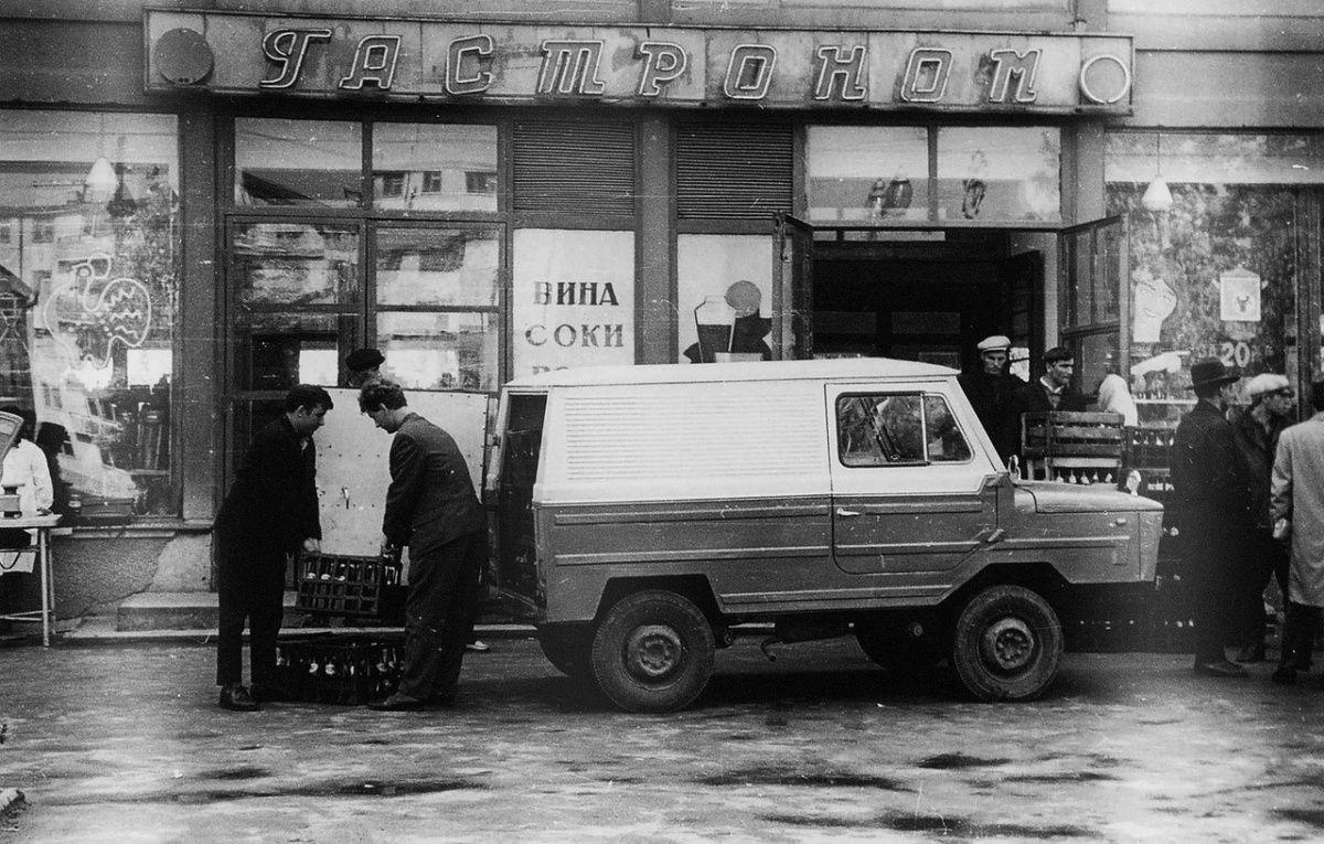 Найден уникальный переднеприводный фургон ЛуАЗ-969Ф 3