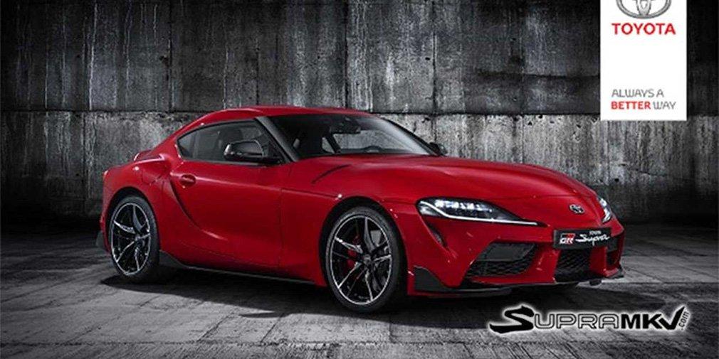 Дизайн возрожденной Toyota Supra рассекретили до премьеры 1