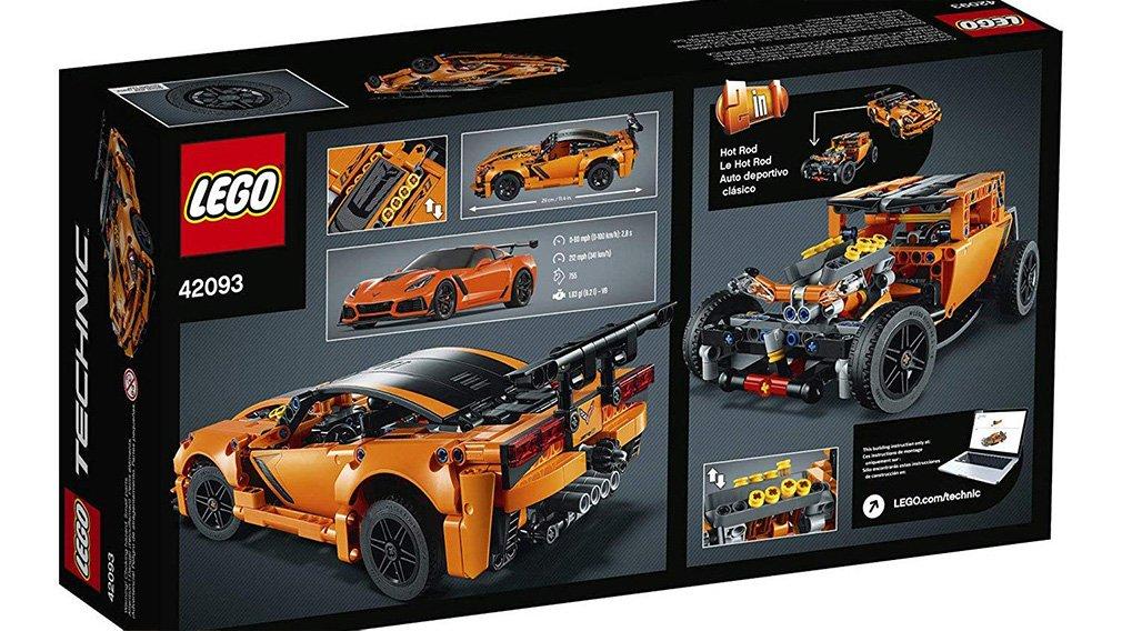 Lego представила копию Chevrolet Corvette ZR1 2