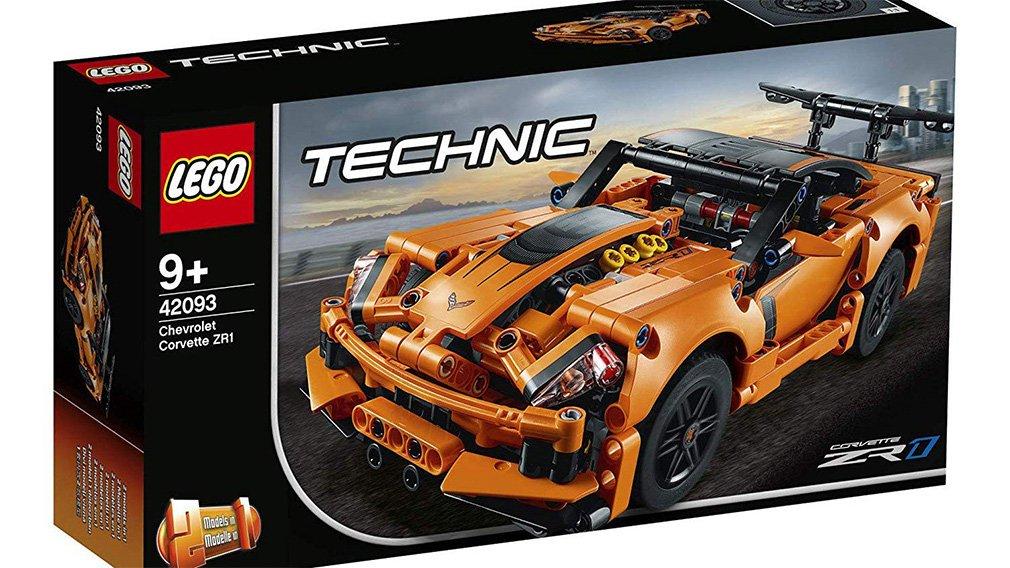 Lego представила копию Chevrolet Corvette ZR1 1