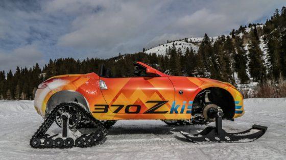 Японцы представили идеальный автомобиль для снегопада 2