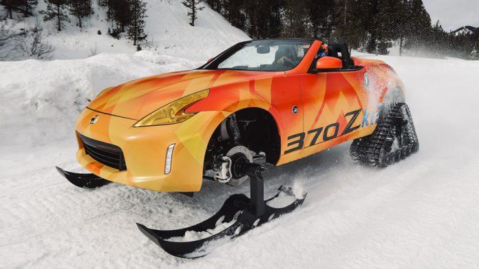 Японцы представили идеальный автомобиль для снегопада 1