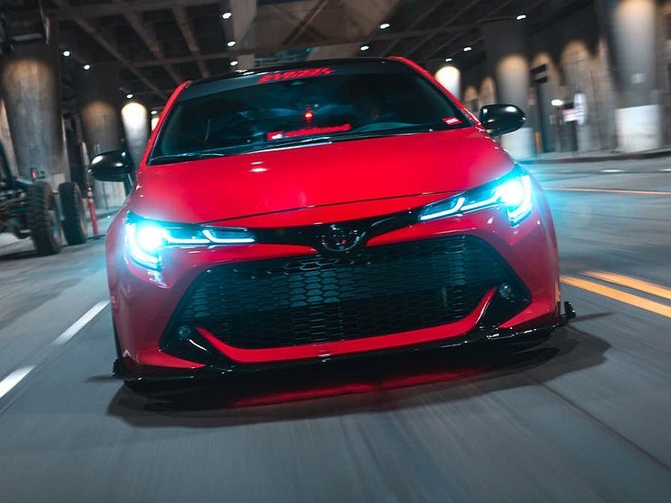 Toyota выпустит «заряженную» версию Corolla 1