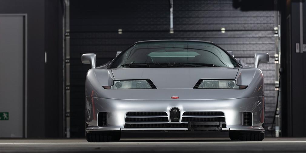 На аукционе продадут редкий Bugatti EB110 с 1000-километровым пробегом 1