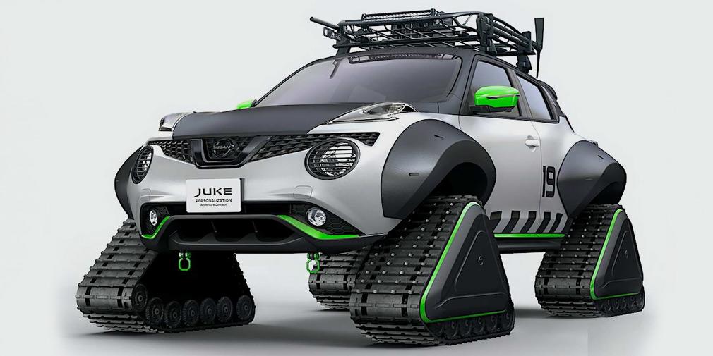 Nissan разработал еще один Juke на гусеничной тяге 1