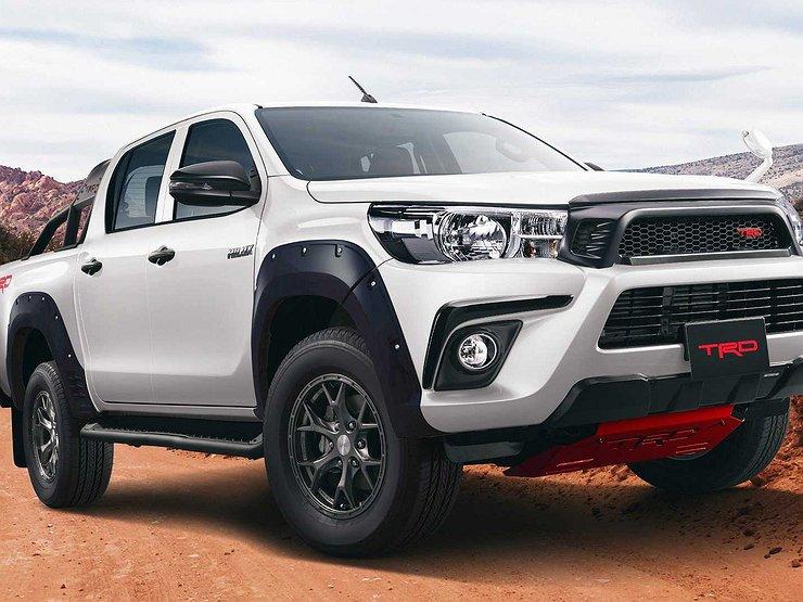 Toyota Hilux получила новую версию 1